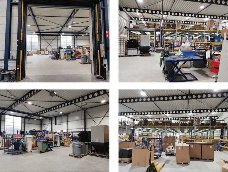 Extension of the Plymovent facility in Alkmaar.